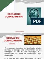 Gestão do Conhecimento - Profª Alecsandra Ventura