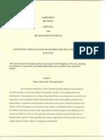 TIEA agreement between Norway and Grenada