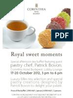Royal Sweet Moments