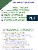 Bab 3 Gelombang Ultrasonik