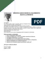 Dientes sanos desde el nacimiento hasta  la muerte - Gerar. F. Judd - Resumen en español