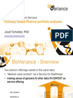 BioVariance Pharma Patents in Biological Pathways