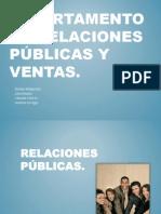 Departamento de Relaciones Publicas y Ventas