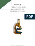 Proposal Pemeliharaan Laboratorium