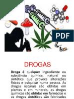 Apresentação sobre drogas