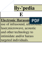 Rally-Pedia Flyers -Electronic Harassment 2
