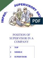 Supervisor Skill