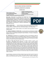 INFORME COORDINACIÓN ADMINISTRATIVA-FINANCIERA AUCM SEPTIEMBRE 2012
