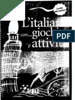 L italiano con giochi e attivitá