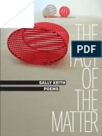 The Fact of the Matter | Poems by Sally Keith