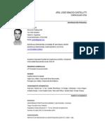 Curriculum Jose Castellitti 2012