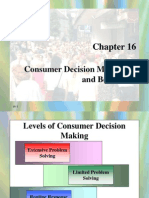 16. Consumer Decision Making and Beyond