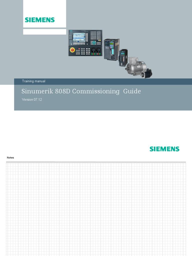 808_1-Sinumerik   Subroutine   Programmable Logic Controller