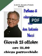 2012.10.25 - Incontro Con Don Mazzi
