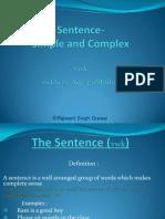 Sentence- A power point presentation