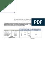 Balance Hidrico de La Ptar Ecofil 10