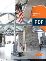 JLG Vertical Lifts Brochure Specs