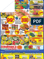 Friedman's Freshmarkets - Weekly Specials - October 25 - 31, 2012