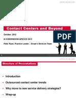 Tendencias mundiales de la industria de Contact Center y BPO