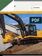 John Deere 120D & 160D Excavator Specs