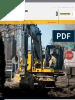 John Deere 135D and 225D Excavator Specs