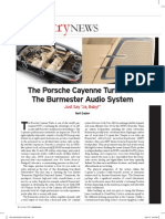 The Absolute Sound - Porsche and Burmester pt. 1