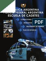 2010 - Cuadernillo Escuela de Cadetes