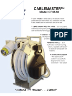 Cablemaster CRM-50 - Brochure