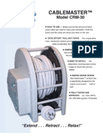 Cablemaster CRM-30 - Brochure
