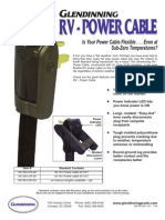 RV Power Cable - Brochure