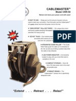 Cablemaster CRR-50 Brochure