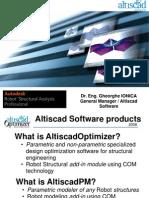 Altiscad Optimizer Presentation