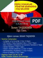 Zaman Yönetimi - İkram Taşdemir