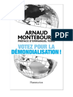 Arnaud Montebourg Votez Pour La Demondialisation