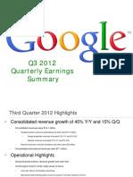 2012Q3 Google Earnings Slides
