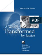 2002 — A World Transformed by Justice