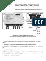Cablemaster CM - Remote Control Programing Guide