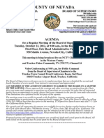 Nevada County BOS Agenda Oct.23