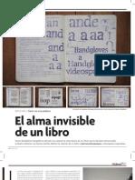 El alma invisible de un libro