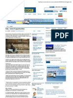 Italy - Land of Opportunities - Insurance Insight