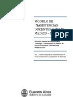 MIDYMM - Instructivo Modulo de Inasistencias Docentes y Memo Medico WEB V1