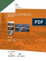 Étude d'impact sur l'environnement et le milieu social de la route 167 Nord vers les Monts Otish (Transports Québec)