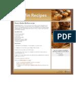 Peanut Butter Muffins Recipe - Muffin Recipes