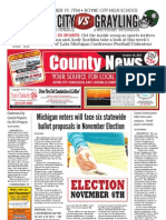 Charlevoix County News - October 18, 2012