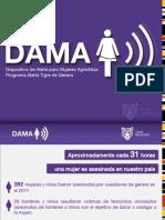 Dispositivo DAMA - Dispositivo de Alerta para Mujeres Agredidas - Tigre Municipio