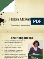 Robin McKinley presentation