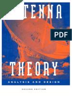 Teoría de Antenas Análisis y Diseño - C. Balanis - 2ed