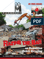 CAM Magazine December 2008 - Demolition, Winter Construction Projects, Construction Outlook 2009