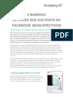 6 Maneras de Hacer Que Sus Posts en Facebook Sean Efectivos - Blog