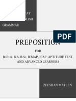 The Easiest Way to Learn Preposition